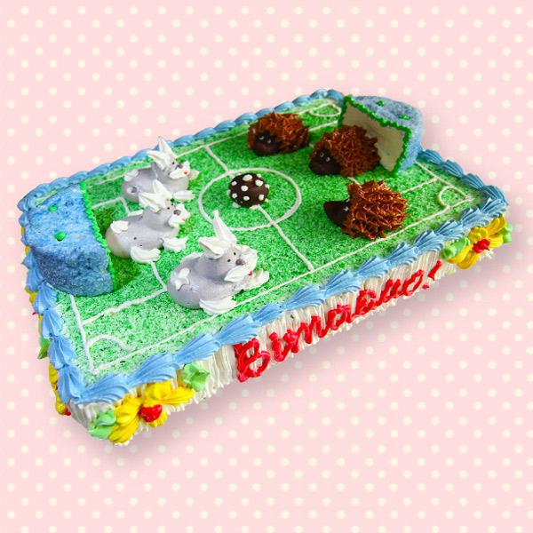 замовити дитячий торт футбол