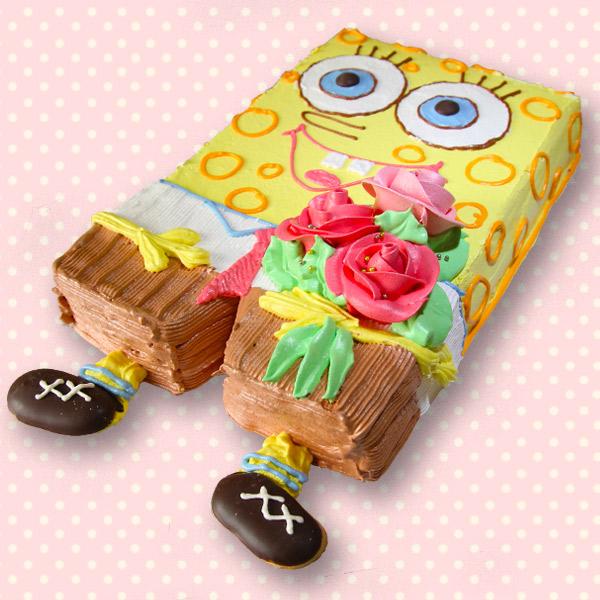 замовити дитячий торт спанч боб