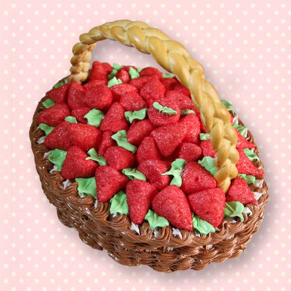 замовити торт корзинка