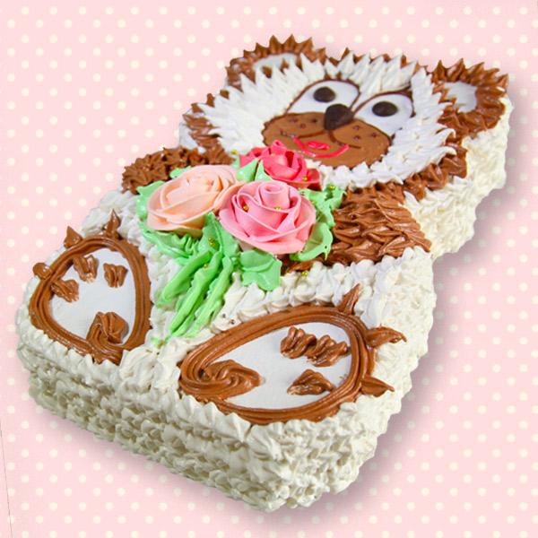 замовити дитячий торт медведик