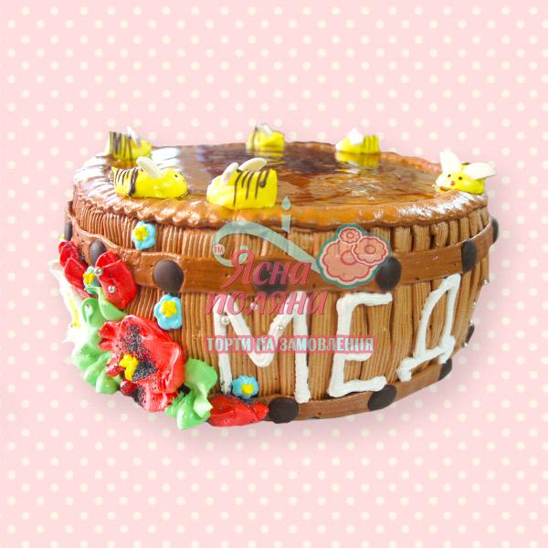 торт на замволеня бочка меду Житомир