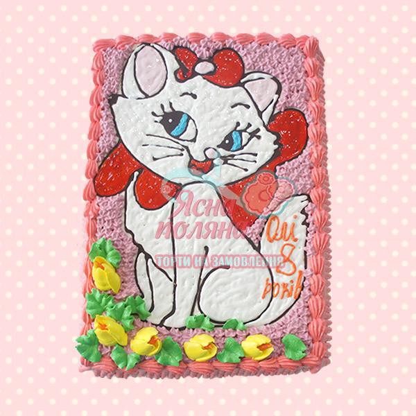 Торт на замовлення кошка мери Житомир