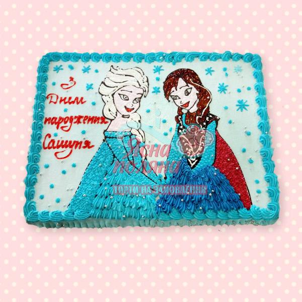 Замовити торт Холодне Серце Житомир