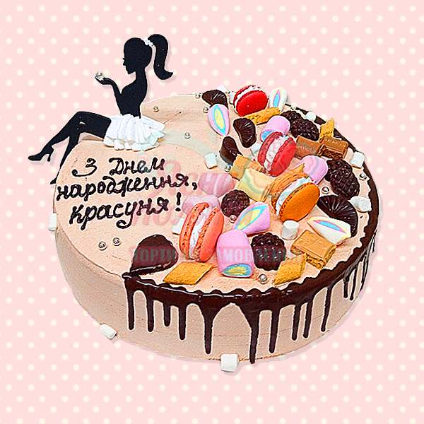 Торт з топером Ясна Поляна